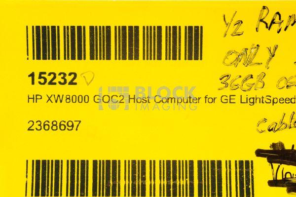 2368697 HP XW8000 Linux DDR Workstation Workstation for GE