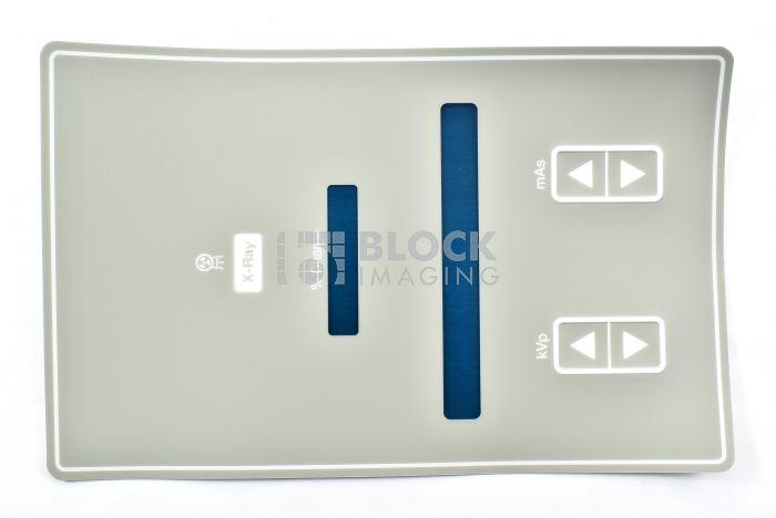 46-270738P2 Control Panel Label, Gray 4