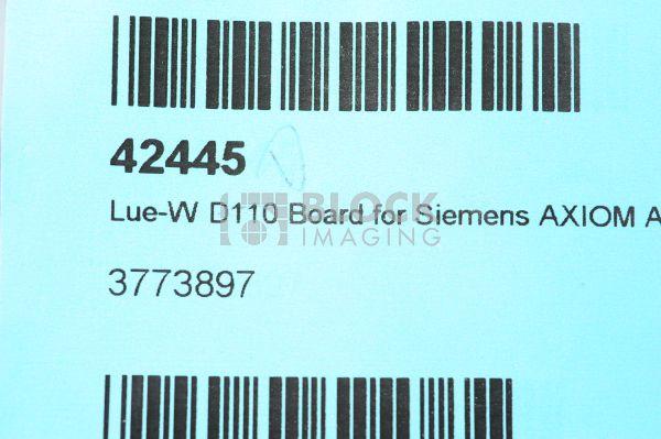 3773897 Lue-W D110 Inverter Board for Siemens Cath/Angio