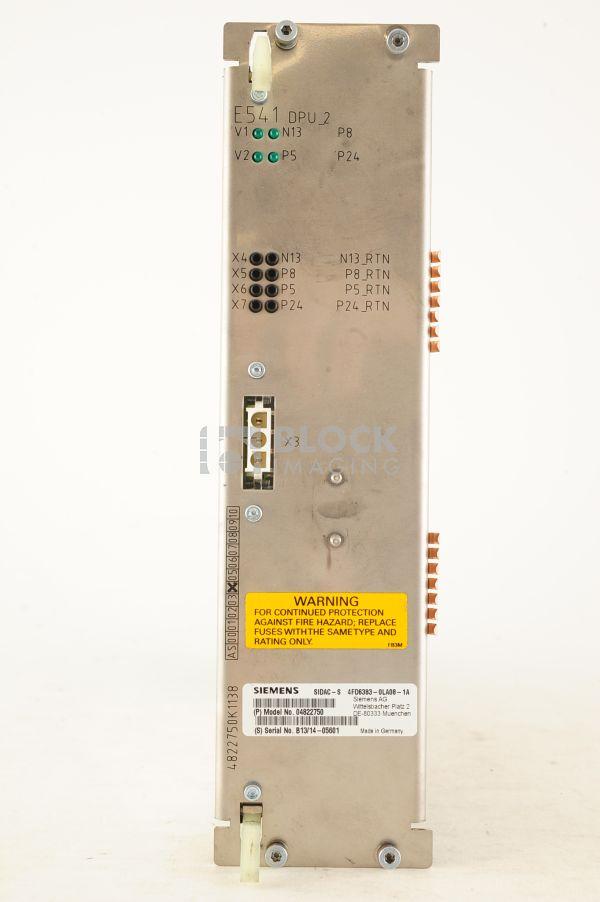 4822750 DPU 2 MX E541 Board