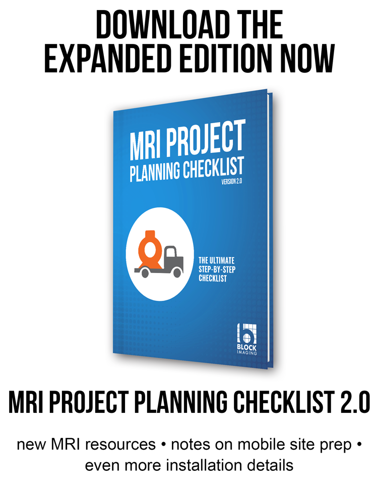MRI Project Planning Checklist